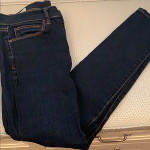 Gap Dark Wash Skinny Jeans